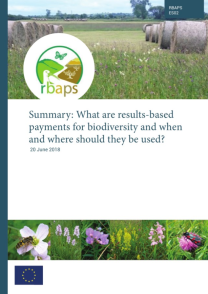 summary - what are results-based payments for biodiversity and when and where should they be used